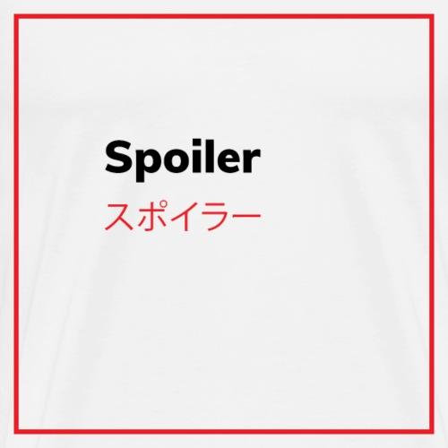 Spoiler - Maglietta Premium da uomo