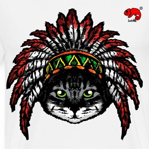 cat apache - Maglietta Premium da uomo