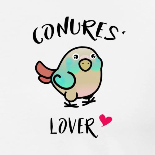 Conures' Lover: blue cinamon - T-shirt Premium Homme