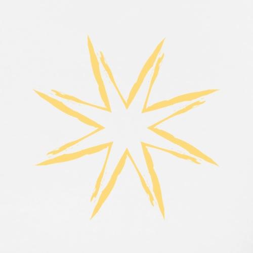 Yellow Star - T-shirt Premium Homme