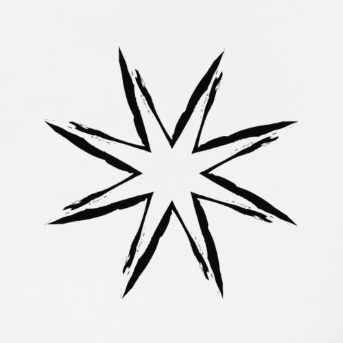Black Star - T-shirt Premium Homme
