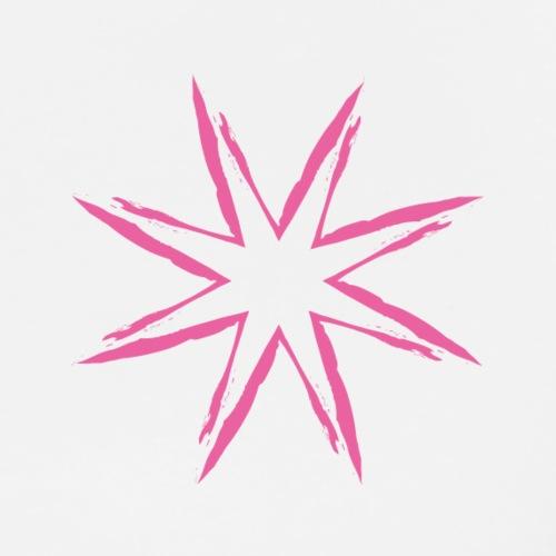 Pink Star - T-shirt Premium Homme
