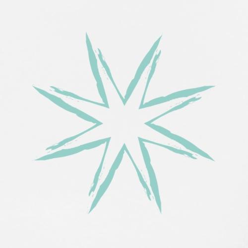 Green Star - T-shirt Premium Homme