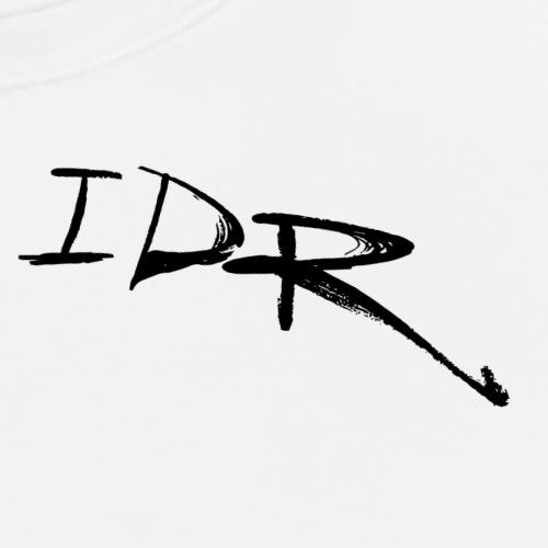 IDR Signature   Black - Men's Premium T-Shirt
