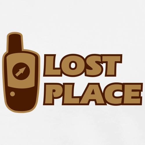 Outdoor-Adventure GPS Geocaching Lost Place - Männer Premium T-Shirt