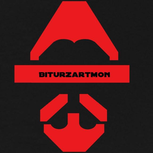 Biturzartmon Logo rot glatt