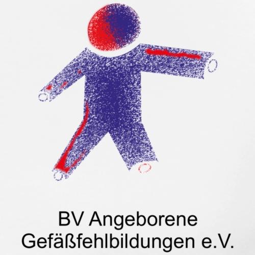 Logo Angiodysplasie Schwarz - Männer Premium T-Shirt