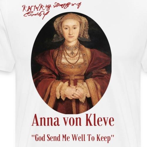 Anna von Kleve - Männer Premium T-Shirt