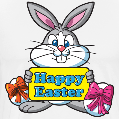 Easter Bunny Happy Easter - Men's Premium T-Shirt