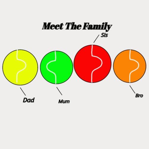 meet the family - Men's Premium T-Shirt