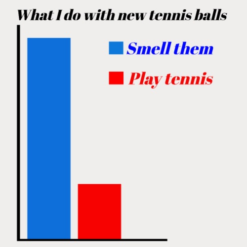 tennis stat 1 - Men's Premium T-Shirt
