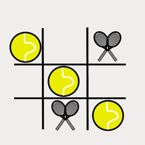x and o TENNIS - Men's Premium T-Shirt