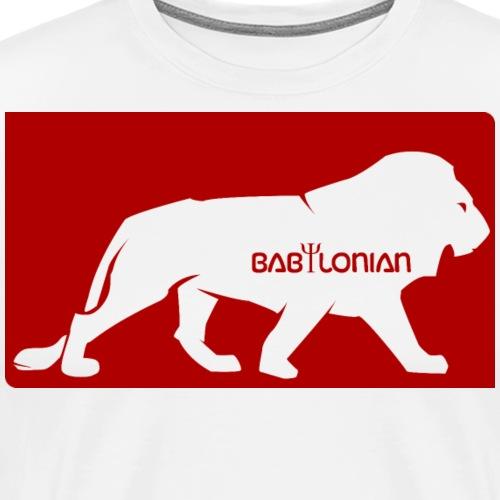 Babylonian Lion logo - T-shirt Premium Homme