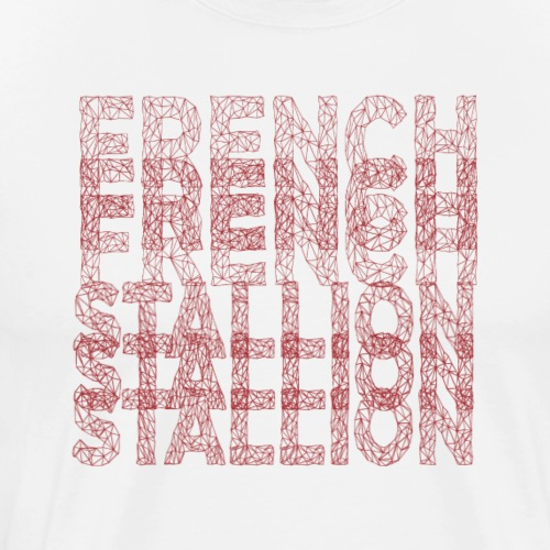 Typographie - T-shirt Premium Homme