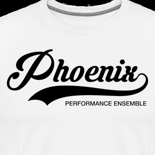 Phoenix Retro Black - Männer Premium T-Shirt