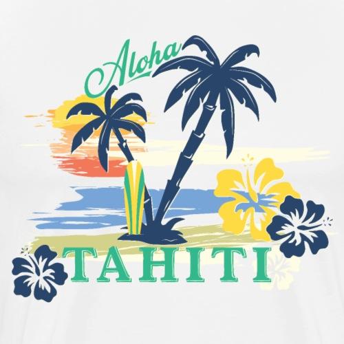 ALOHA TAHITI Tee Shirts - Men's Premium T-Shirt