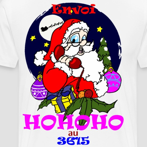 hohoho 3615 - T-shirt Premium Homme