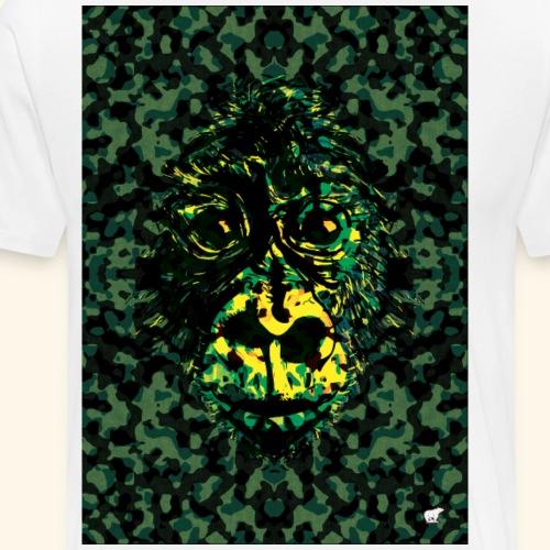 Singe camo - T-shirt Premium Homme