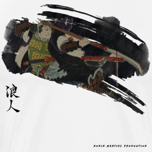 BUSHI - Japan warrior - T-shirt Premium Homme