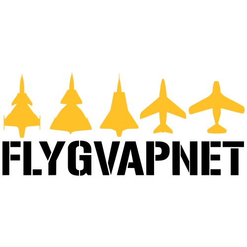 Flygvapnet - Premium-T-shirt herr