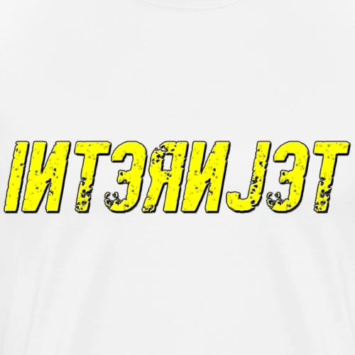 Internjet transparent - Miesten premium t-paita