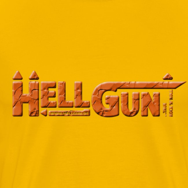 HELLGUN logo 2014 orange png