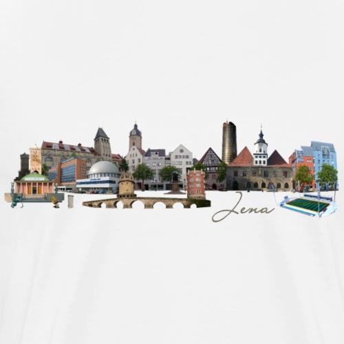 Jena Skyline - Männer Premium T-Shirt