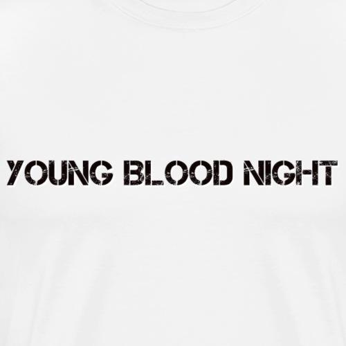 YBN Schriftzug LOGO - Männer Premium T-Shirt