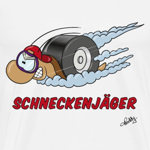 Schneckenjäger - Männer Premium T-Shirt