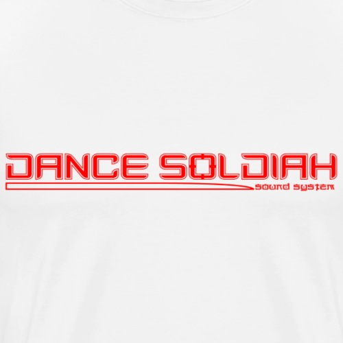DANCE SOLDIAH RED - T-shirt Premium Homme