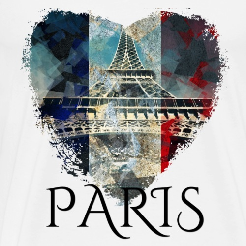 My heART beats for Paris - Männer Premium T-Shirt