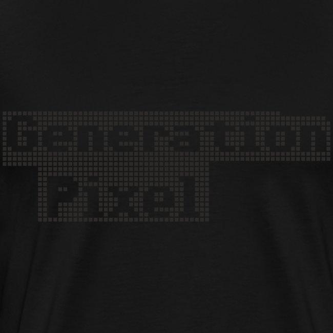 Generation Pixel black