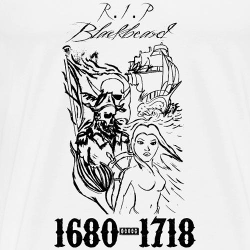Blacbeard - Miesten premium t-paita