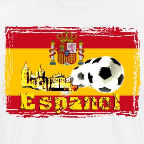 Espanol Fussball - Männer Premium T-Shirt