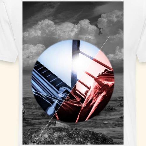 Horizon Circle - Männer Premium T-Shirt