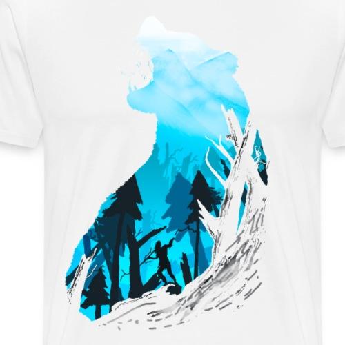 Horizon - fade in - Männer Premium T-Shirt