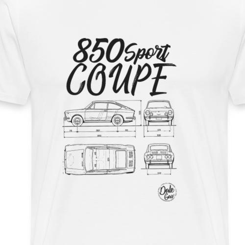 Modelo 850 Sport Coupe - Camiseta premium hombre