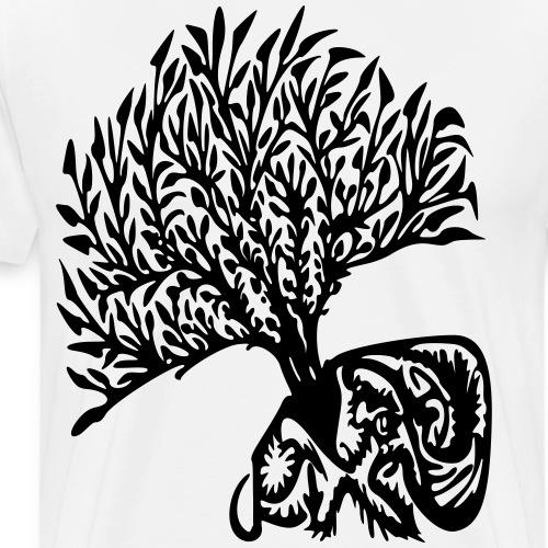 Albero tribe - Maglietta Premium da uomo