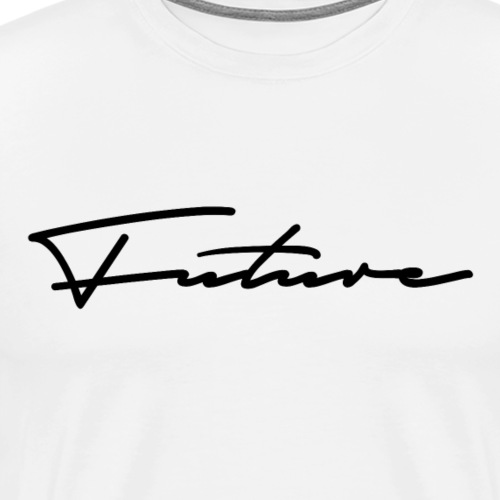 Future Autograph - Herre premium T-shirt
