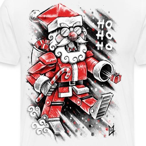 Robot Santa Claus - Men's Premium T-Shirt