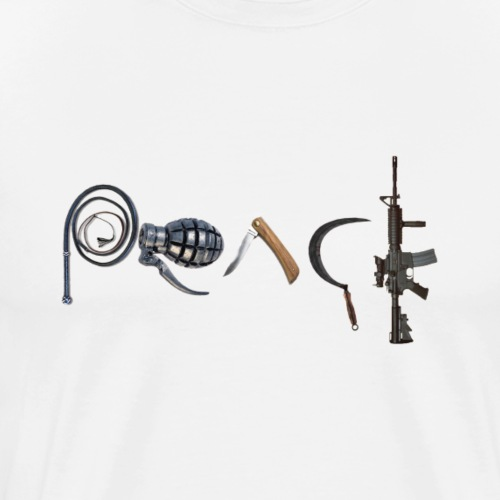 War in PEACE Shirt - Men's Premium T-Shirt