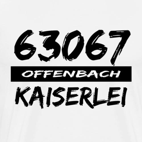 63067 Offenbach Kaiserlei - Männer Premium T-Shirt