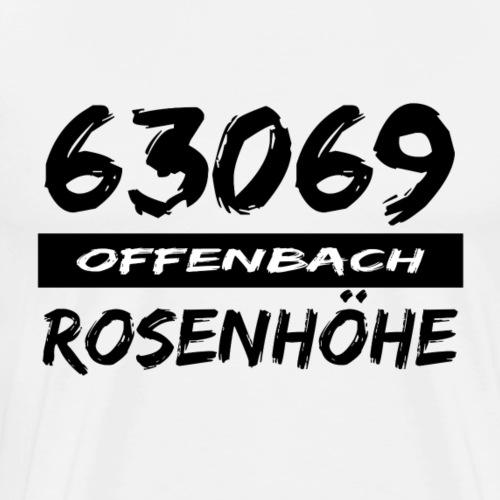63069 Offenbach Rosenhöhe - Männer Premium T-Shirt