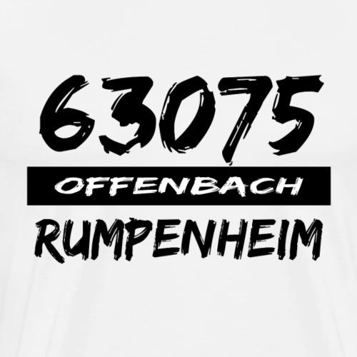 63075 Offenbach Rumpenheim - Männer Premium T-Shirt