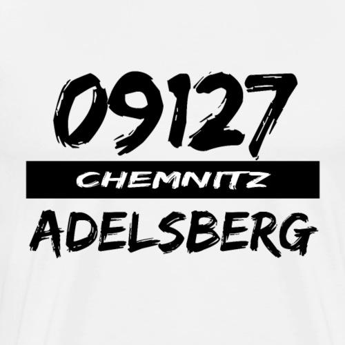 09127 Adelsberg Chemnitz Karl-Marx-Stadt tshirt - Männer Premium T-Shirt