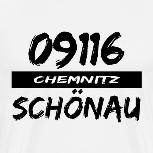 09116 Schönau Chemnitz Karl-Marx-Stadt tshirt - Männer Premium T-Shirt