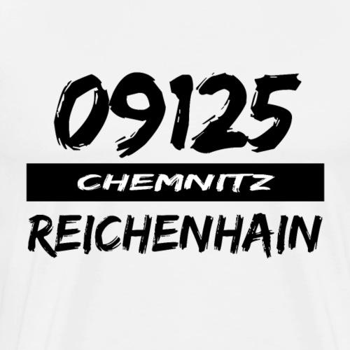 09125 Reichenhain Chemnitz Karl-Marx-Stadt tshirt - Männer Premium T-Shirt