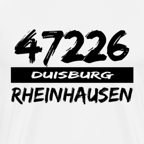 47226 Rheinhausen Duisburg - Männer Premium T-Shirt