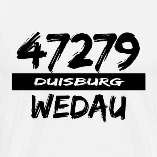 47279 Wedau Duisburg - Männer Premium T-Shirt