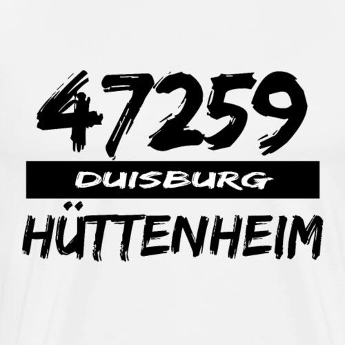 47259 Hüttenheim Duisburg - Männer Premium T-Shirt